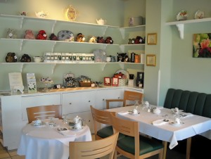 Inside White Heather Tea Room